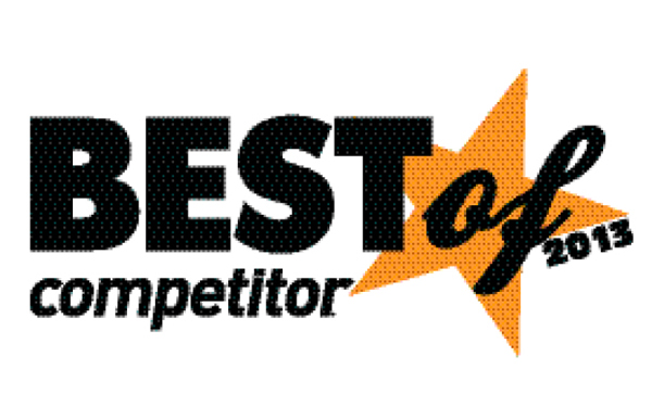 Best Of Competitor 2013