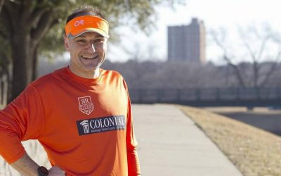 CR massage runs the Cowtown ULTRA Marathon 2018