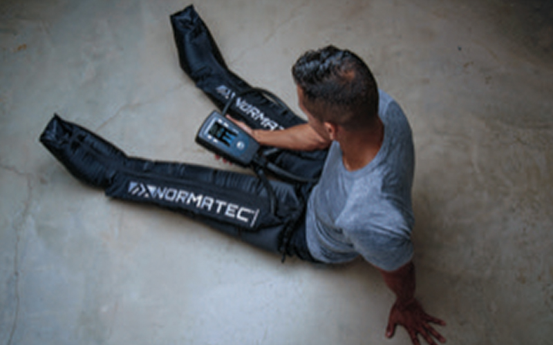 Normatec Compression Boots - Best sports massage in Fort Worth